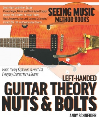 Left-Handed Bass Guitar Theory Nuts & Bolts: Music Theory Explained in Practical Everyday Context for All Genres