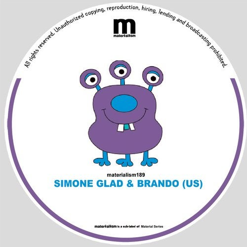Simone Glad, Brando (US) – Move [MATERIALISM189]