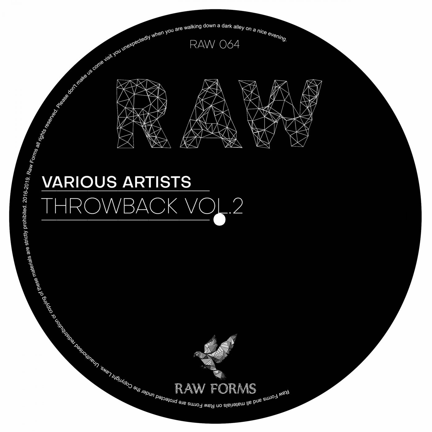 VA – Raw Forms Throwback, Vol. 2 [RAW064]